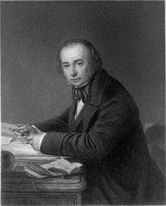 Engraved portrait of Isambard Kingdom Brunel